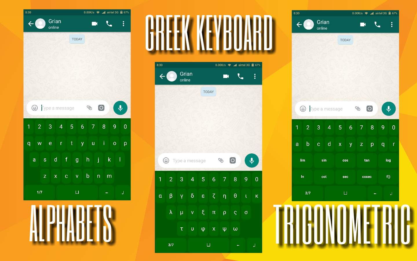 Searchfreeapp Math Symbols Keyboard The App Allows You To Type